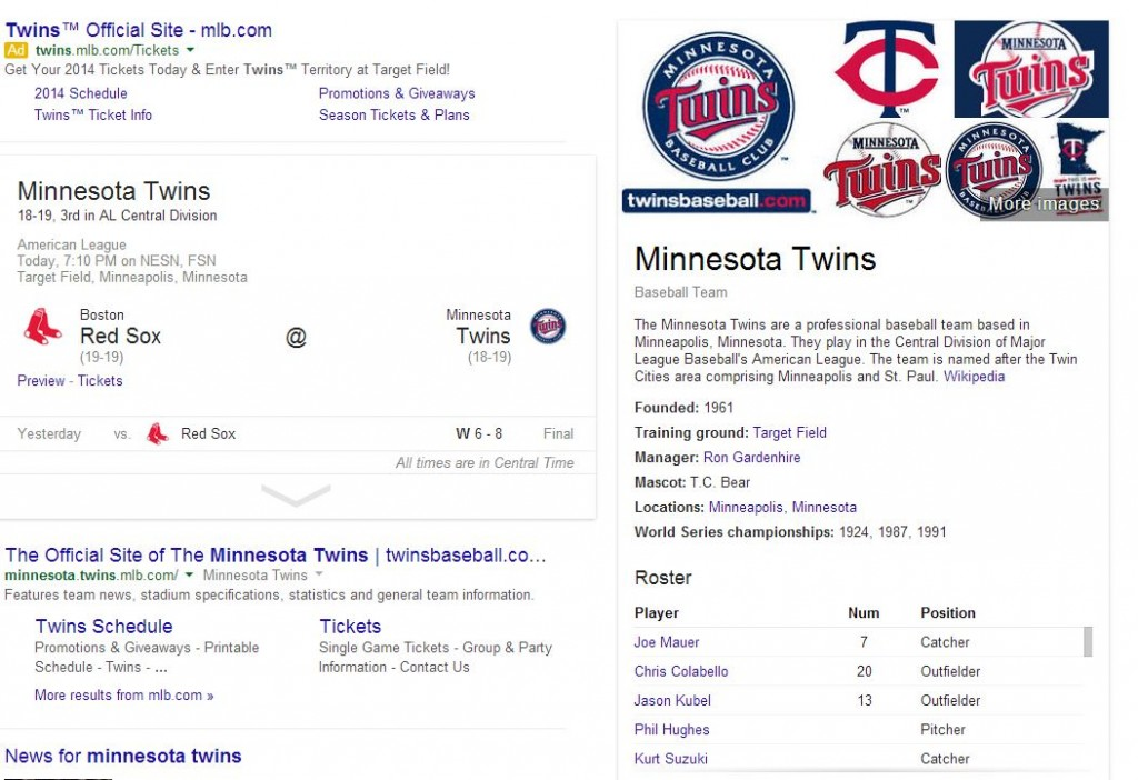 twins graphic