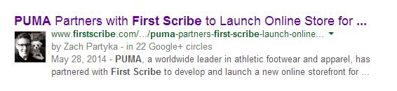 Google authorship photo