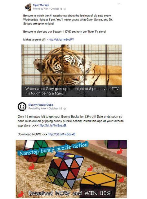 facebook spammy posts