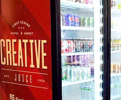Perrill Creative Juice refrigerator