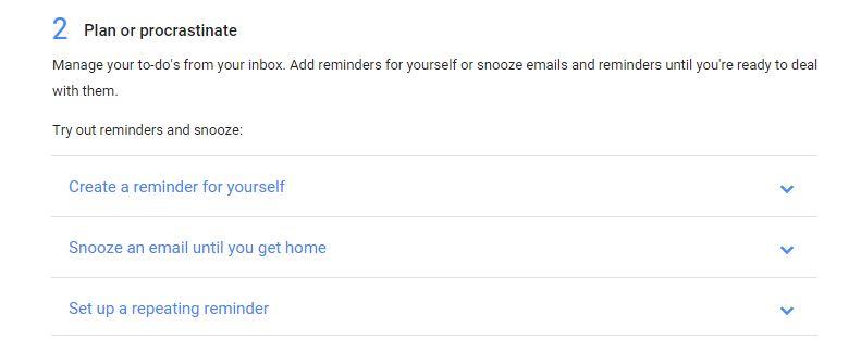 google inbox hidden
