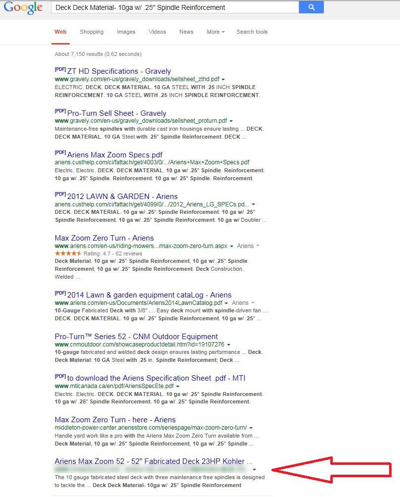 hidden content google demotion