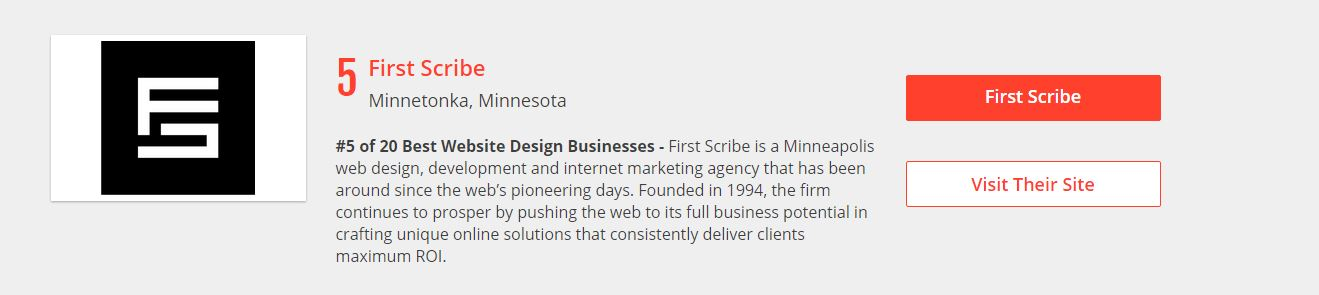first scribe top design firms