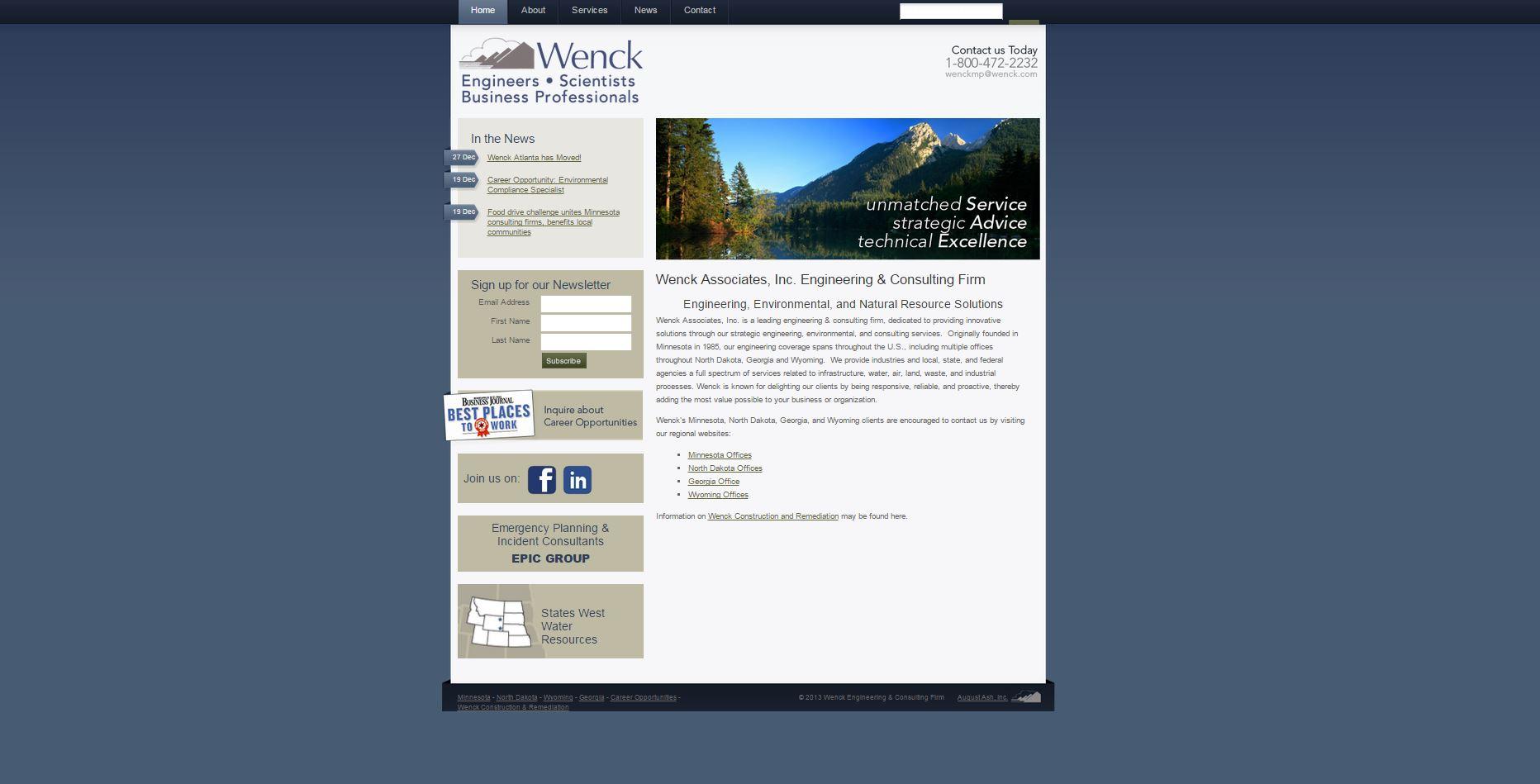 wenck website old