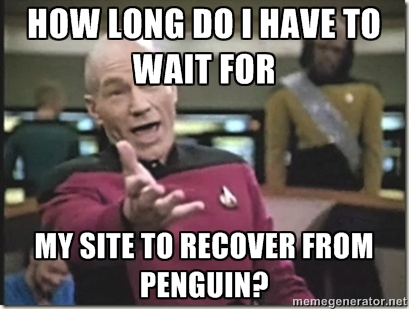 waiting for penguin update