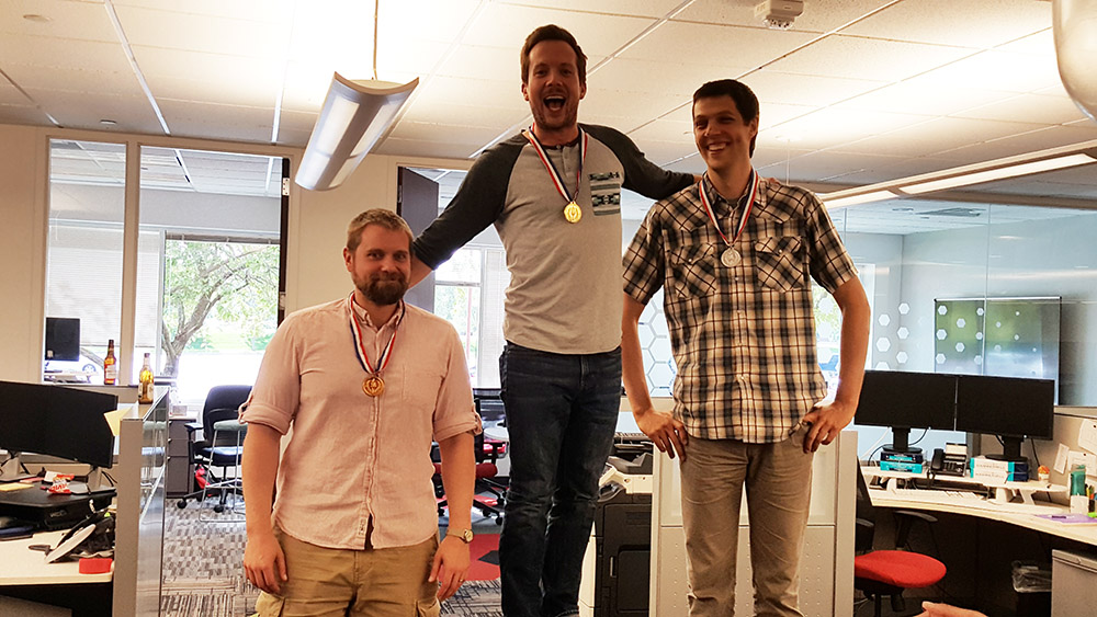 first scribe olympics race medals