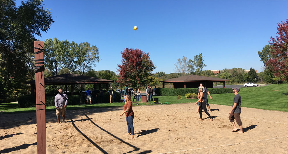 first scribe volleyball match