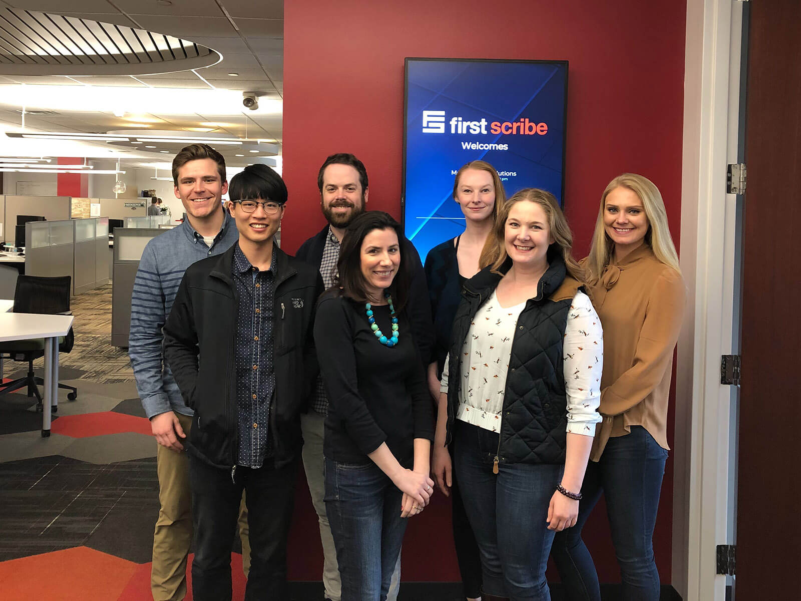 first scribe's spring 2019 new hires