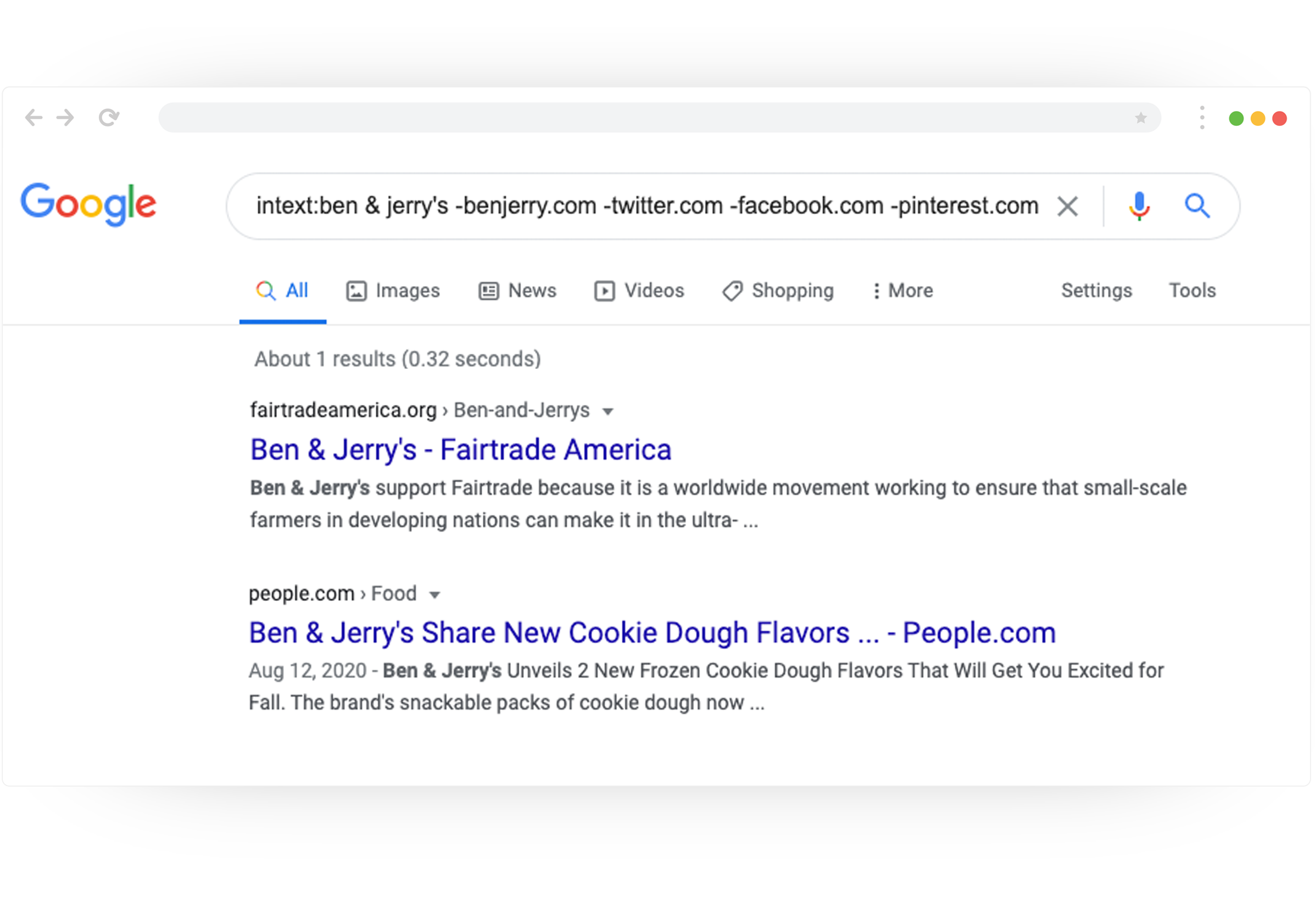 intext:ben & jerry's -benjerry.com -twitter.com -facebook.com -pinterest.com -youtube.com backlinks